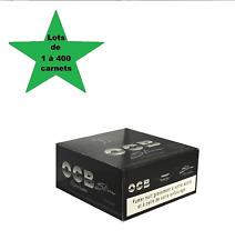 OCB Slim Premium lots de 1 à 400 carnets de feuilles à rouler grande taille