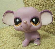 Littlest Pet Shop LPS Rare Purple Elephant 1086