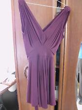 Asos Kleid Gr. 34 für Abiball oder so - weinrot, knielang - ungetragen