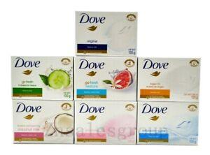 Dove Beauty Cream Bar Soap 12 Packs (Choose From Flavor ) 135g / 4.75 oz