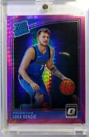 2018 18-19 Donruss Optic Rated Rookie Hyper Pink Prizm Luka Doncic RC #177, Mavs