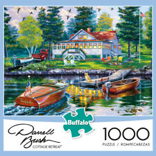 Buffalo Games Puzzle Cottage Retreat Darrell Bush 1000 Pieces #11243