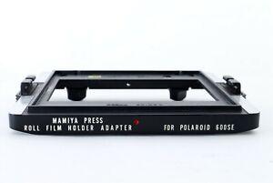 [Rare N.MINT] Genuine Mamiya Film Holder M Adapter for Polaroid 600SE JAPAN #491