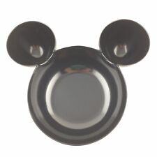 "New listing Disney Zak Mickey Mouse Ears Large 12"" Black Snack Chip Crudite Dip Food Bowl"