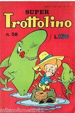 SUPER TROTTOLINO N. 58 del 1965 Edizioni Bianconi (con storia di GEPPO)