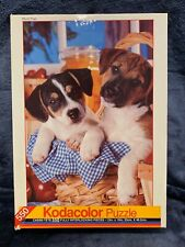 KODACOLOR 550 PIECE PUZZLE PICNIC PUPS 1994 Brand NEW Sealed