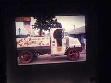 Photo slide Circus World Museum Baraboo WISCONSIN Mack truck Fire truck tourist