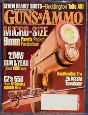 Magazine GUNS & AMMO November 2005 !!! PARA-ORDNANCE Model Hawg 9 9mm PISTOL !!!