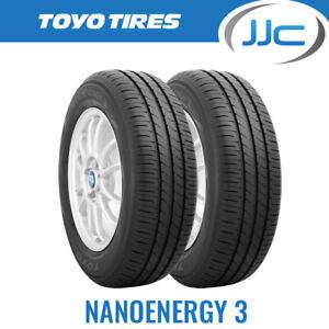 2 x 175/65/15 Toyo Nanoenergy 3 Premium Eco Road Car Tyres 175 65 15 84T