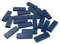 LEGO LOT OF 20 NEW DARK BLUE 1 X 2 X 5 BRICKS PILLARS BUILDING BLOCKS PIECES