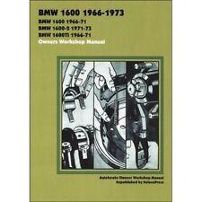 BMW 1600 1966-1973 Officina Proprietari Manuale BOOK LIBRO MOTO