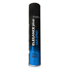 Elegance Hair Spray Extra Strong Hold Natural Shine 13.5oz for Barber & Stylist