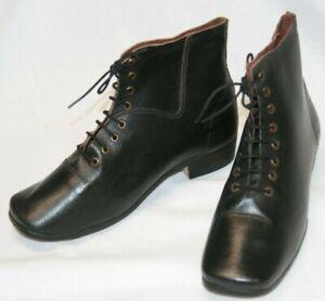1850's-1860 Civil War Victorian Woman's Work Shoe