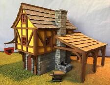 Fantasy, Medieval, D&D Terrain: Blacksmith's Shop