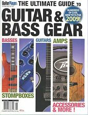 Guitar Player Magazine Ultimate Guide to Guitar Bass Stompbox Amp Gear 2009
