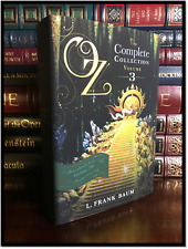 Wizard Of Oz by L. Frank Baum New Hardback Complete #3 Patchwork Tok Scarecrow
