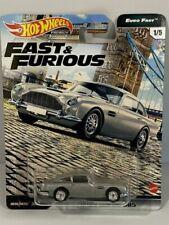 Hot Wheels Wild Speed Premium Fast and Furious 1:64 Car Set - GBW75956K