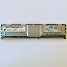 Ddr2 FBDIMM, 4gb, Micron mt36htf51272fz-667h1d6, 800 MHz ddr2 (pc-5300f), HP