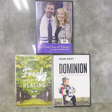 EUC Lot of 2 cd sets + 1 DVD JOSEPH PRINCE, JOHN GRAY, RABBI KIRT & CYNTHIA S1E1