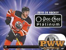 CHICAGO BLACKHAWKS 2019-20 Upper Deck O-Pee-Chee Platinum Hockey Case Break #1