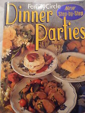 Family Circle Step by Step Dinner Parties EUC