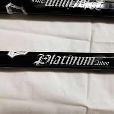 "Warrior Platinum Alloy 30"" Lacrosse Attack Stick Black Pla11"