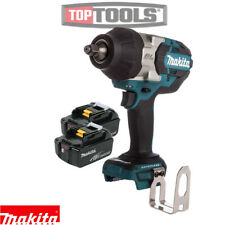 Makita dtw1002z 18 V Brushless Impact Wrench with 2 x 5ah Batteries