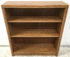 Small 3-tier Oak Bookcase Lot 2548