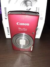 Canon PowerShot Elph 180 20MP Compact Digital Camera Red  New