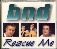 BND - rescue me  4 trk MAXI CD 1997