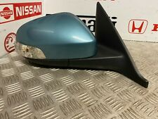VOLVO S40 V50 2007-2012 FACELIFT O/S RIGHT POWERFOLD WING MIRROR IN GREEN