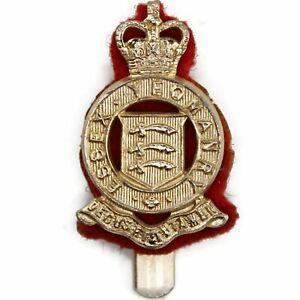 Staybright Essex Yeomanry Regiment Staybrite Anodised Cap Badge - DE46