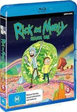 RICK AND MORTY - SEASON 1   Blu Ray - Sealed Region B & for UK
