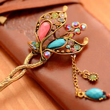 Butterfly Rhinestone Classical Hairpin / Hairstick