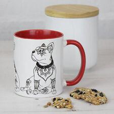 More details for french bulldog gifts: french bulldog mug featuring our original art frenchie mug