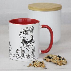 French Bulldog Gifts: French Bulldog Mug Featuring Our Original Art Frenchie Mug