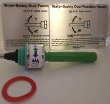 SLOAN WES-212 UPPERCUT DUAL FLUSH HANDLE GASKET SIGNS PLUMBING TOILET HANDLE
