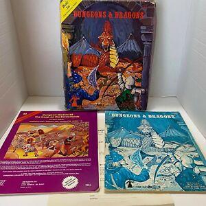 Vintage Dungeons & Dragons Basic Box Set 1001 1979