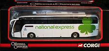 CORGI 1:76 OM46403A NATIONAL EXPRESS CAETANO LEVANTE 450 MANSFIELD VIA NOTTS