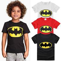 Enfant Garçon tout-petit batman t-shirt manche courte été t-shirts