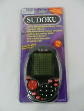 Sudoko Handheld Electronic Game PMS Timer Alarm Function 9 Levels of Difficulty