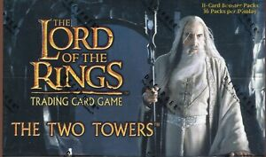 Lord Of The Rings TCG The Two Towers Factory Sealed Trading Card Booster Box