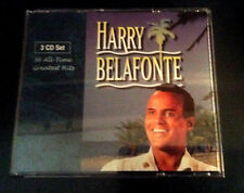 Harry Belafonte  36 All Time Greatest Hits 3 CD Set 1998 RCA