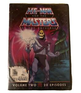 He Man and the Masters of the Universe, Vol. 2 (DVD, 2011, 2-Disc Set) MOTU NEW
