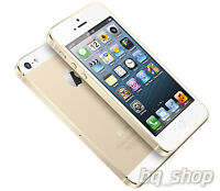 New Original Apple iPhone 5S Gold 64GB iOS 7 8MP Unlocked Smart Phone By FedEx