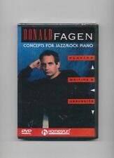 DONALD FAGEN STEELY DAN JAZZ ROCK PIANO LESSON DVD NEW