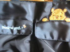 Euc/Vguc Winnie the Pooh Peek-A-Pooh Navy Blue Diaper Bag- Great/Holds Tons!