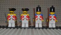 Lego Figuren Imperial Guard 2x pi062 2x pi065 aus Sets 6277 6279 6271 6263 etc.