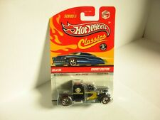 Hot Wheels Classics Series 5 #26/30 Convoy Custom Black with Redlines