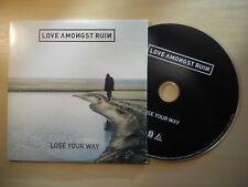 Love Amongst Ruin – Lose Your Way *PROMO* [ CD ALBUM ]